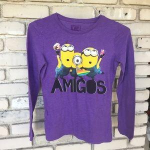 Amigos despicable me kids shirt